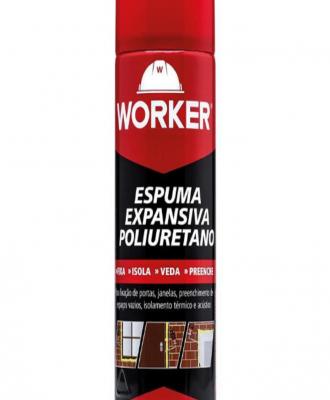 Espuma poliuretano Worker – 425ml