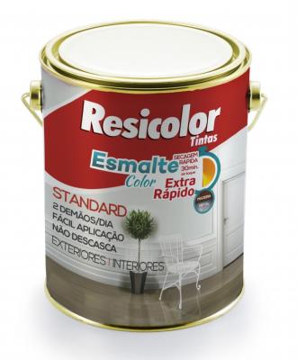 Esmalte Color Extra Rápido Resicolor – Branco 900ml