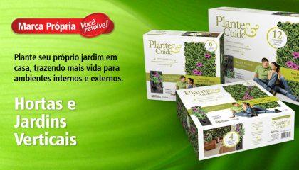 Hortas e Jardins Verticais