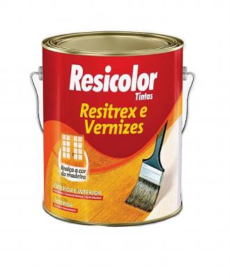Resitrex e Verniz Maritimo Brilhante Resicolor – 3,6L
