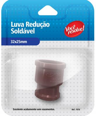 Luva de Redução Soldável – 32x25mm