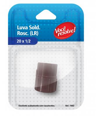 Luva Soldável Roscável (LR) – 20 x 1/2″