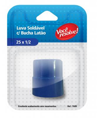 Luva Soldável com Bucha – 25 x 1/2″