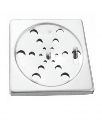 Grelha Quadrada Meber Inox 405 c/ Fecho – 15×15