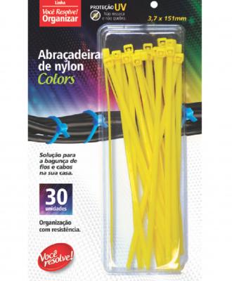 Abraçadeira de Nylon Colors Você Resolve – 3,7 x 151mm
